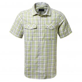 Wensley Short-Sleeved Shirt Soft Khaki Combo