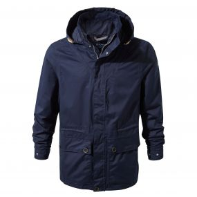 Ingham Jacket Blue Navy