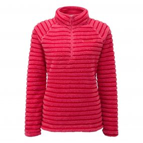 Appleby Half Zip Electric Pink Combo