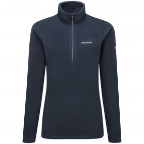 Miska III Half-Zip Fleece Soft Navy