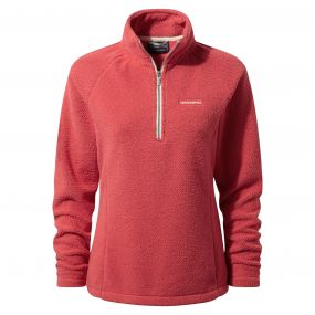 Moira Half Zip Fleece Watermelon