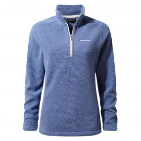 Moira Half-Zip Fleece China blue