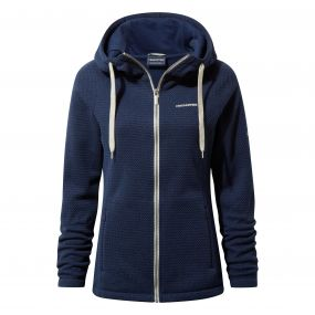 Lindell Hood Jacket Night Blue