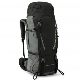60 Litre +10 Litre Expedition Rucksack Black
