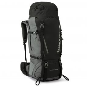70 Litre +10 Litre Expedition Rucksack Black