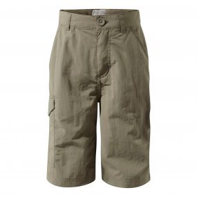 INSECTSHIELD CARGO SHORTS Pebble
