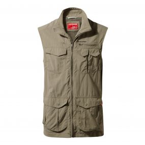 INSECTSHIELD ADVENTURE GILET Pebble