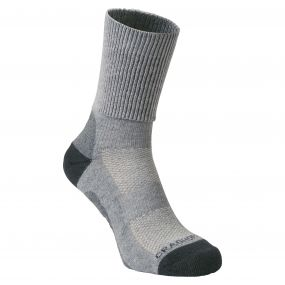 Summer Walking Sock Light Grey / Quarry Grey