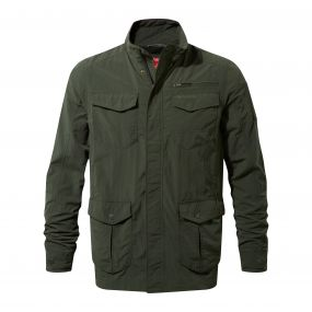 INSECTSHIELD ADVENTURE JACKET Dark Khaki