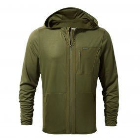 Insect Shield Elgin Hood Jacket Dark Moss