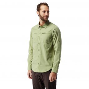 Kiwi Trek Long-Sleeved Shirt Soft Khaki