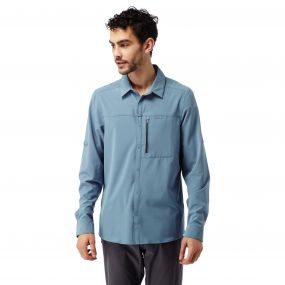 INSECTSHIELD PRO LONG SLEEVED SHIRT Smoke blue