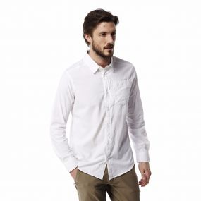 Insect Shield Tatton Long-Sleeved Shirt Optic White