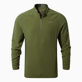 Insect Shield Active Long Sleeved Tee Dark Moss