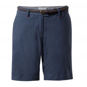 INSECTSHIELD FLEURIE SHORT Soft Navy