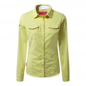 INSECT SHIELD ADVENTURE LONG SLEEVED SHIRT Limeade