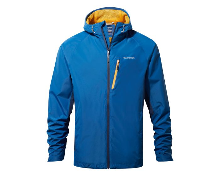 Discovery Adventures Waterproof Jacket Deep Blue | Craghoppers ...