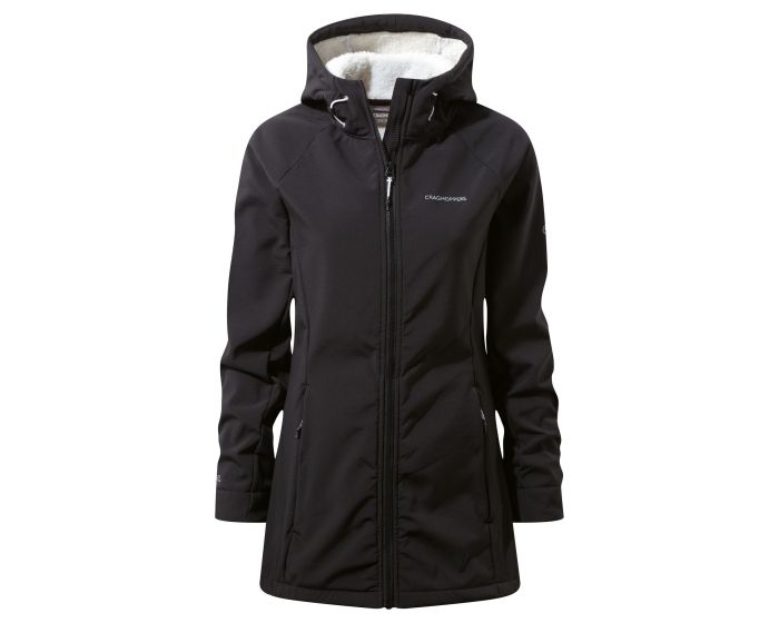 Ingrid Hooded Jacket Black | Craghoppers