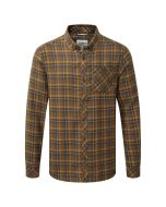 Kearney Long-Sleeved Check Shirt Dirty Olive