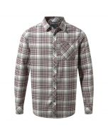 Bjorn Long-Sleeved Check Shirt Quarry Grey