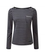 Fairview Long Sleeved Top Soft Navy Combo