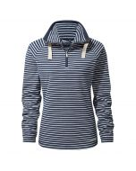 Rhonda Half-Zip Fleece Night Blue Combo